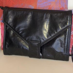 Vintage Bottega Vaneta Black Clutch